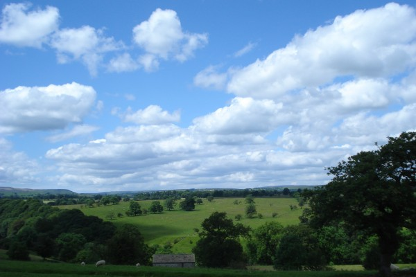 View across the Ribble Valley